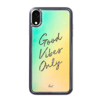 GOOD VIBES ONLY for iPhone XR - LAUT Japan