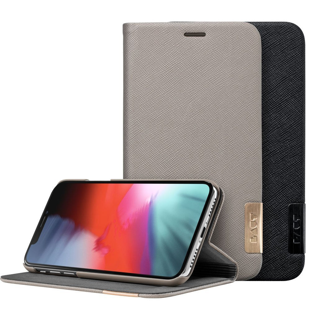 PRESTIGE FOLIO for iPhone XR - LAUT Japan