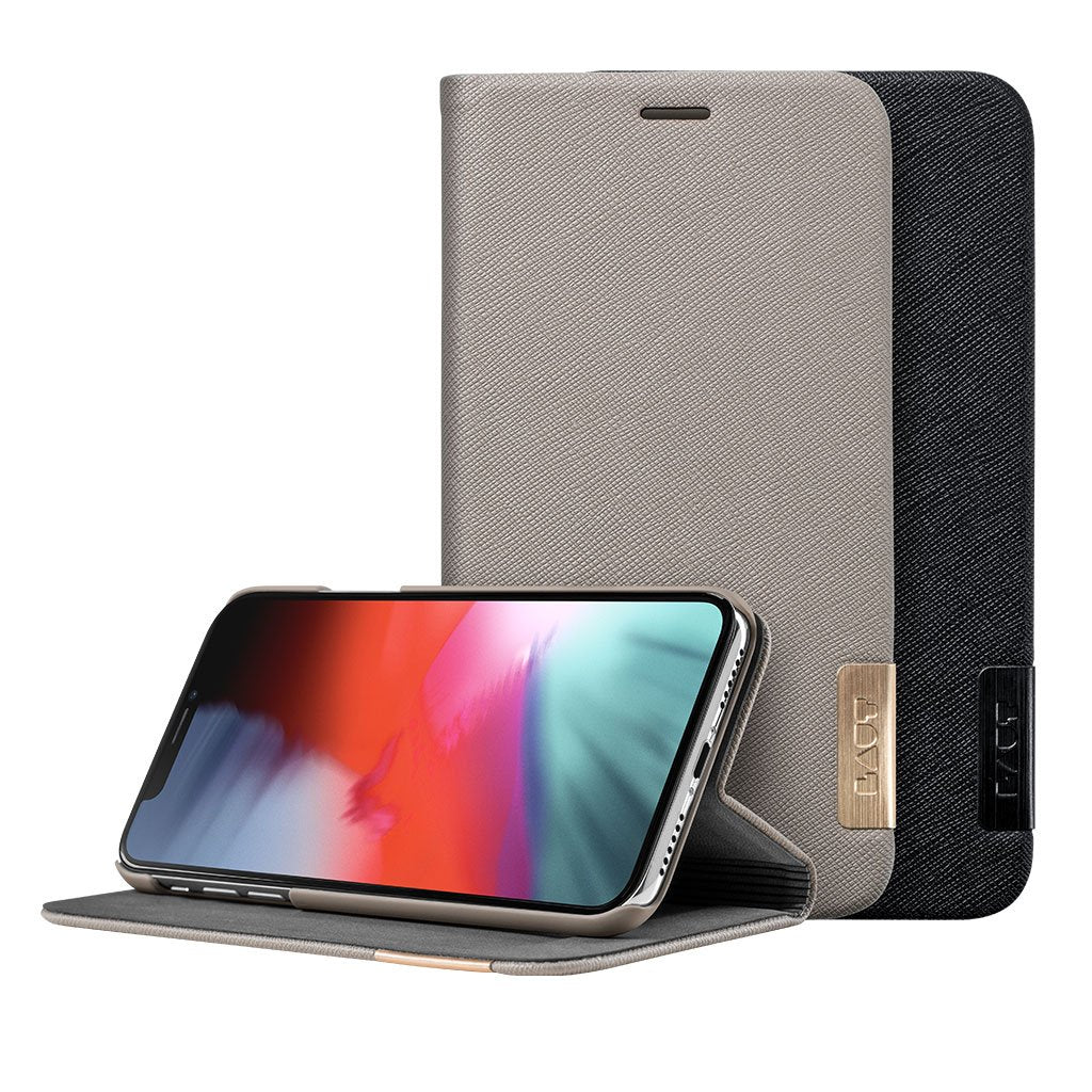 PRESTIGE FOLIO for iPhone XS - LAUT Japan