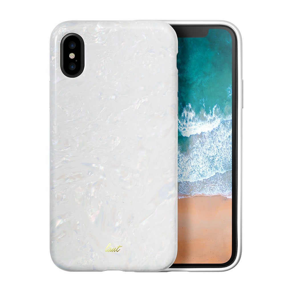 POP ARCTIC PEARL for iPhone X - LAUT Japan