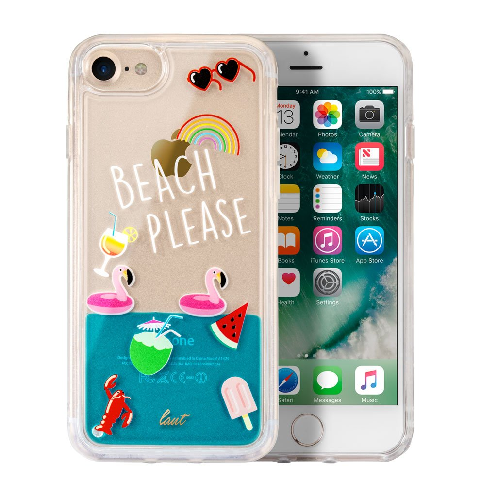POP BEACH PLEASE for iPhone 8/7/6s/6 - LAUT Japan