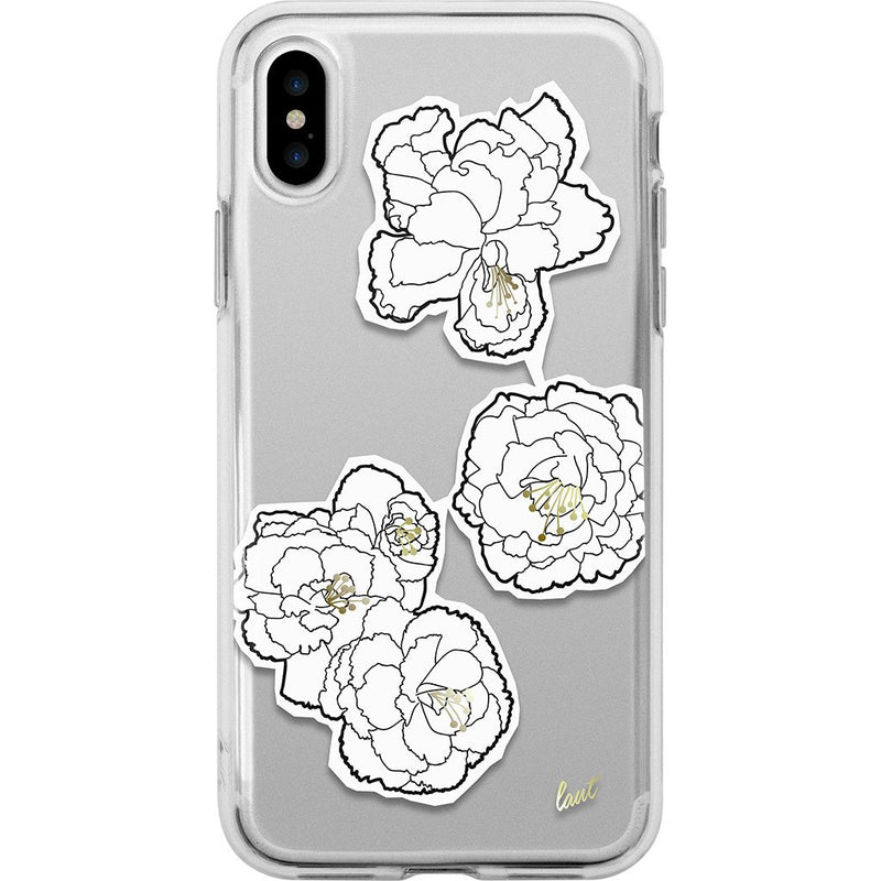 POP MONO BLOOMS for iPhone X - LAUT Japan