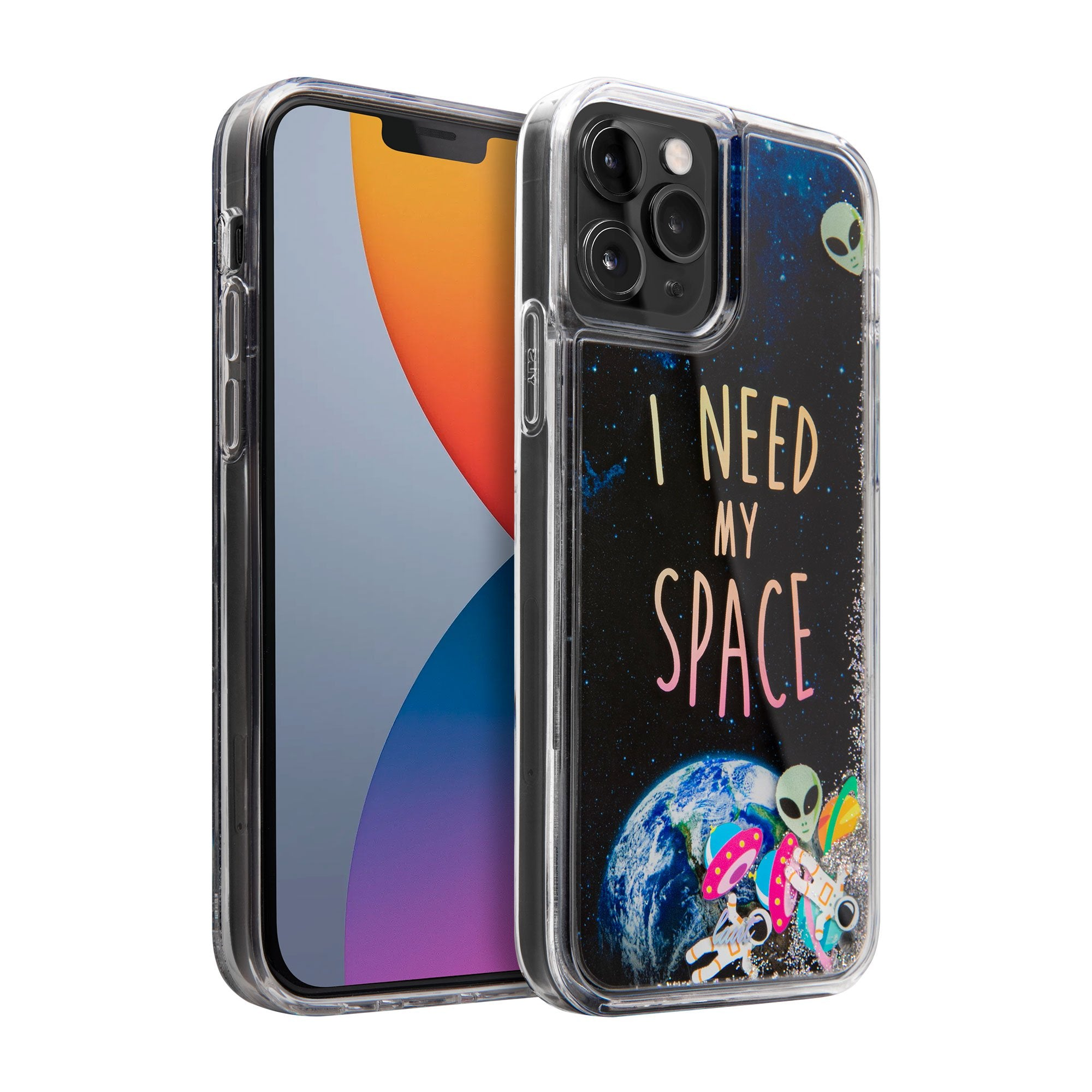 SPACE Liquid Glitter case for iPhone 12 series