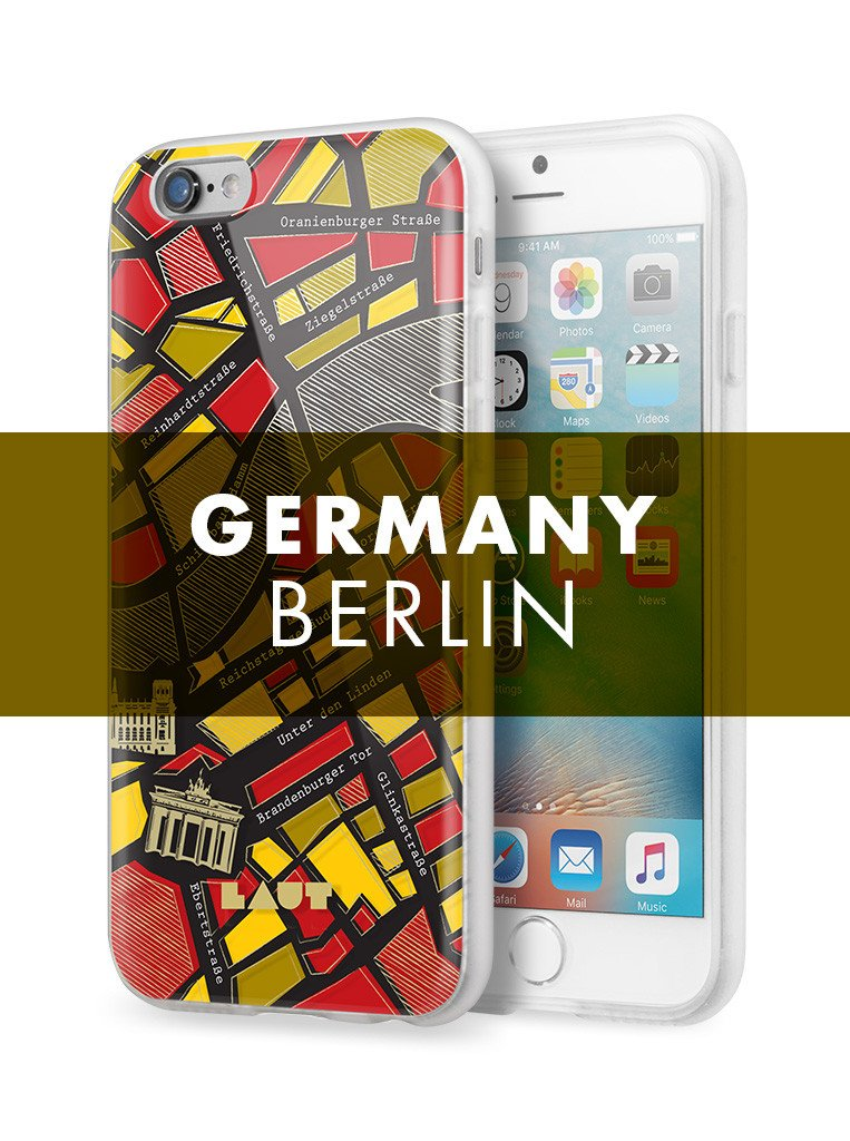 NOMAD Berlin for iPhone 6s Plus / iPhone 6 Plus - LAUT Japan