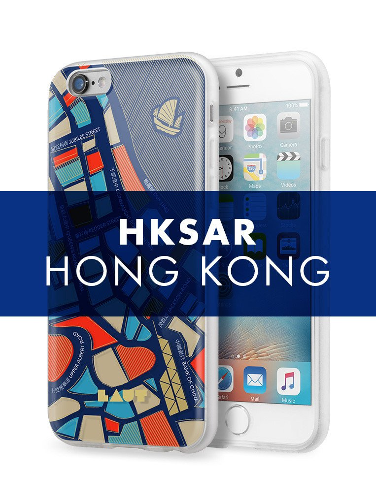 NOMAD Hong Kong for iPhone 6s  / iPhone 6 - LAUT Japan