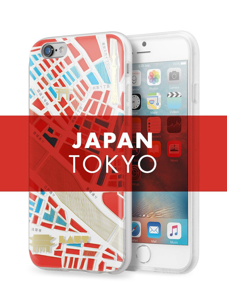 NOMAD Tokyo for iPhone 6s Plus / iPhone 6 Plus - LAUT Japan