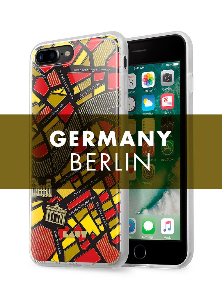 NOMAD Berlin for iPhone 8 Plus / iPhone 7 Plus - LAUT Japan
