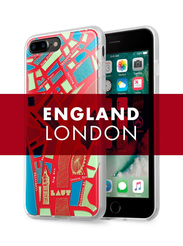 NOMAD London fro iPhone 8 Plus / iPhone 7 Plus - LAUT Japan