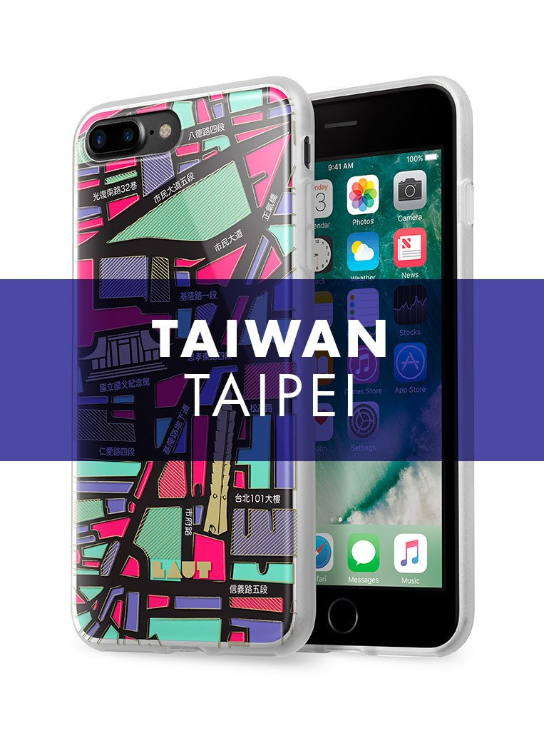 NOMAD Taipei for iPhone 8 Plus / iPhone 7 Plus - LAUT Japan