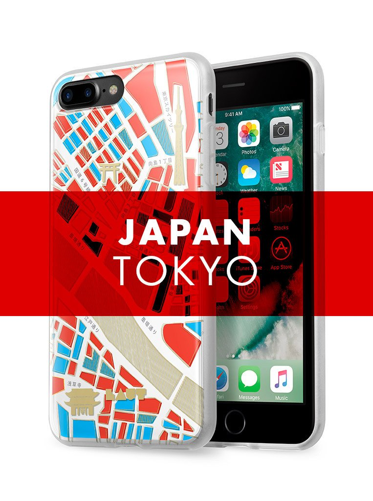 NOMAD Tokyo for iPhone 8 Plus / iPhone 7 Plus - LAUT Japan