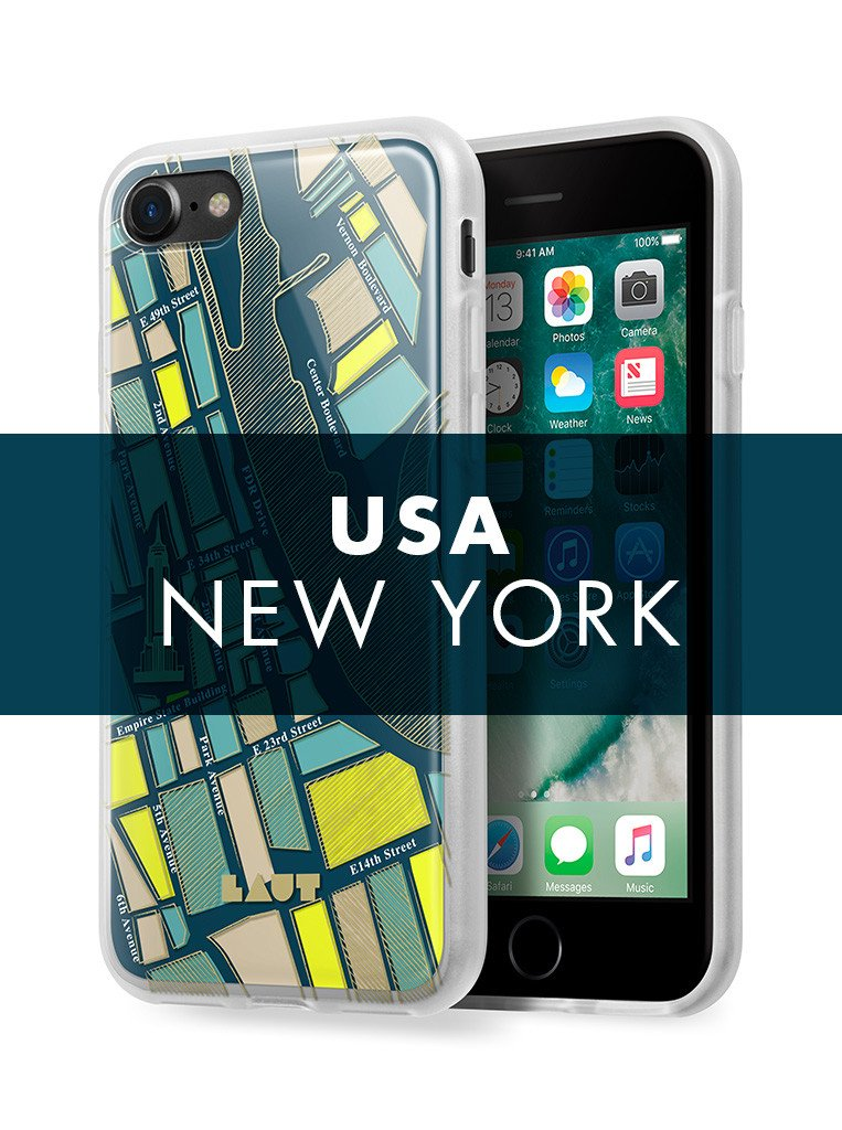 NOMAD New York for iPhone SE 2020 / iPhone 8/7 - LAUT Japan