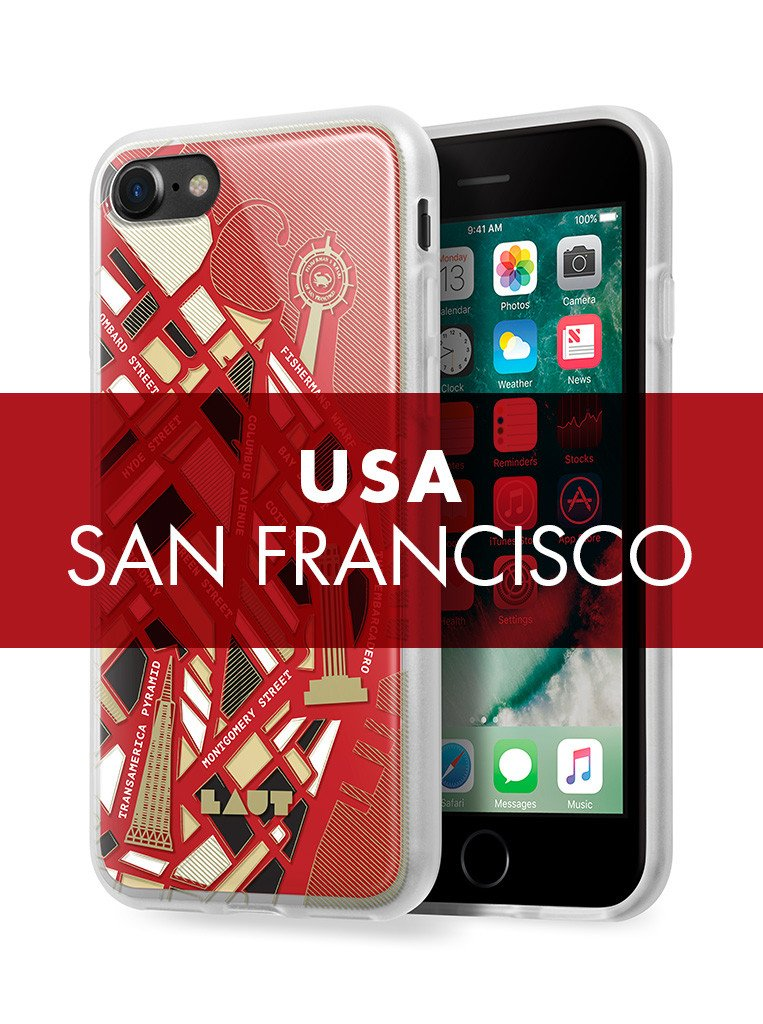 NOMAD San Francisco for iPhone SE 2020 / iPhone 8/7 - LAUT Japan