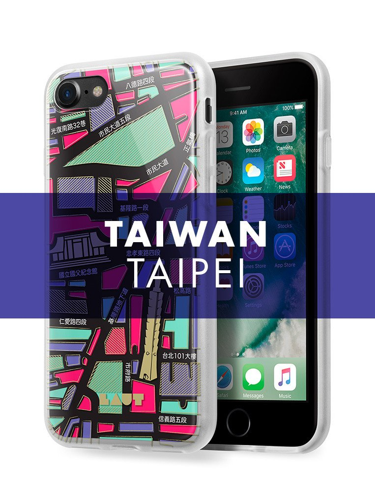 NOMAD Taipei for iPhone SE 2020 / iPhone 8/7 - LAUT Japan