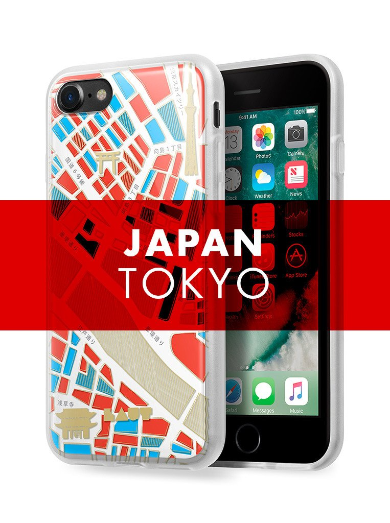 NOMAD Tokyo for iPhone SE 2020 / iPhone 8/7 - LAUT Japan