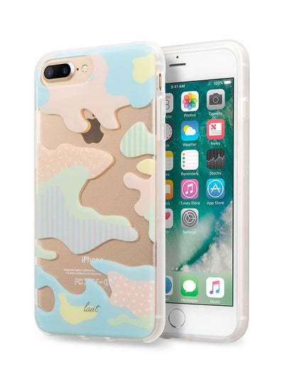 POP-CAMO for iPhone 8 Plus / iPhone 7 Plus / iPhone 6s Plus / iPhone 6 Plus - LAUT Japan