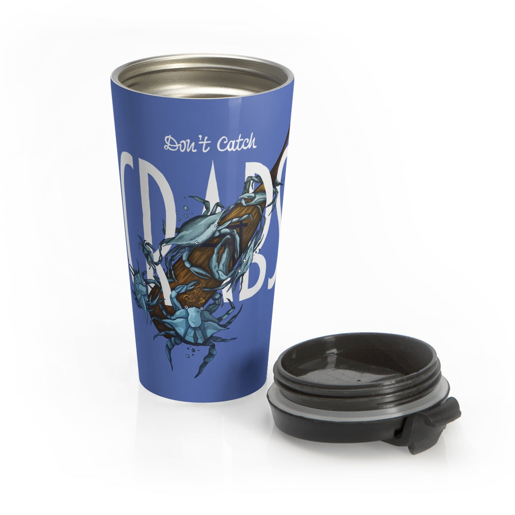 Crabs Stainless Steel Travel Mug