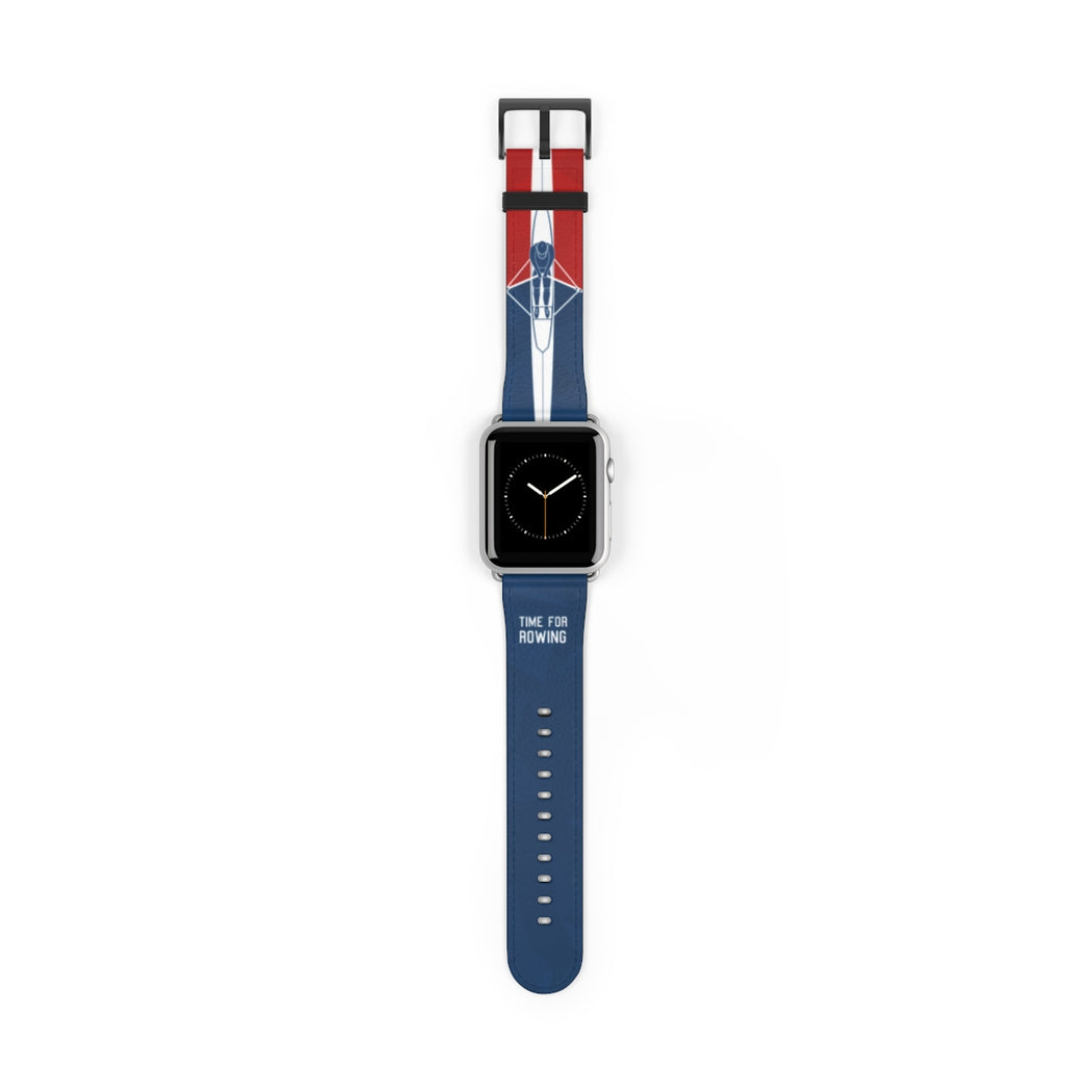 Skiff Watch Band blue/red
