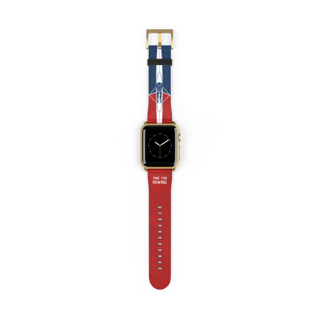 Skiff Watch Band red/blue