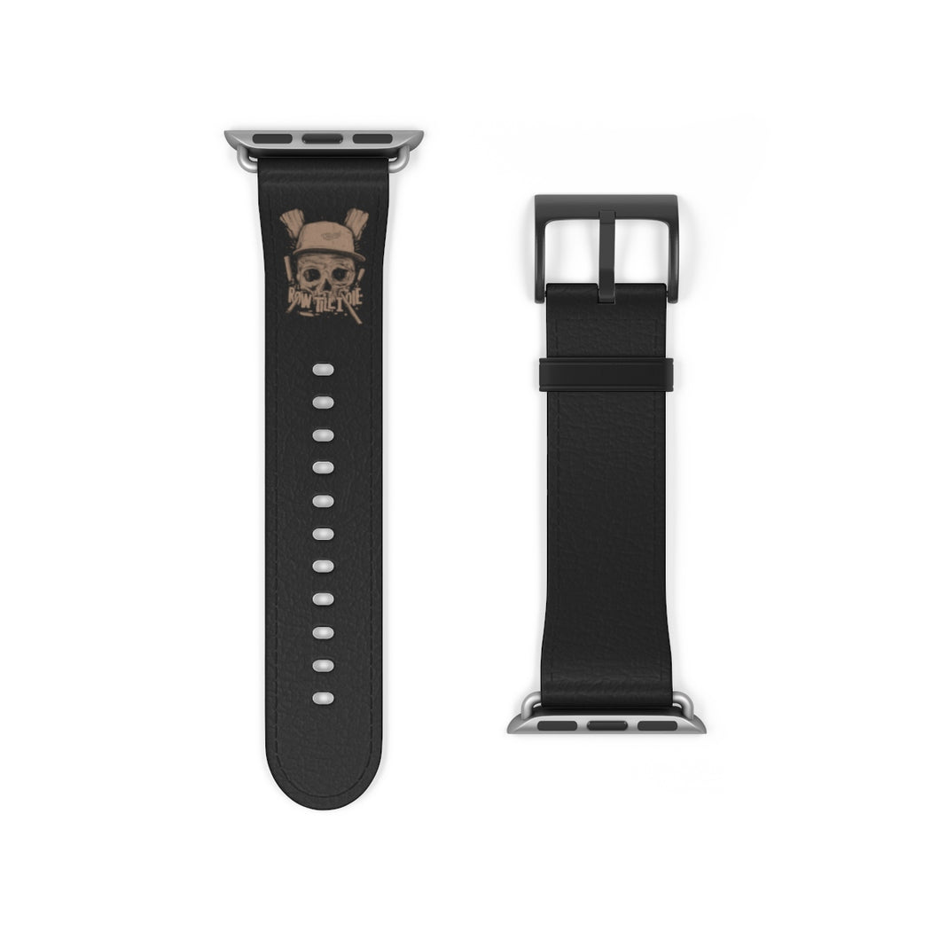 Scull Watch Band