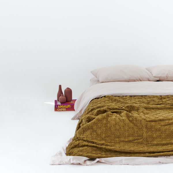 Cotton - Amber Bedspread