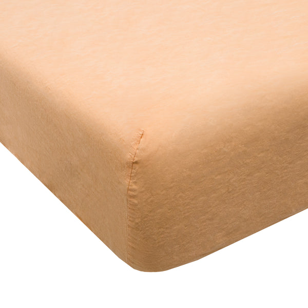 Coco Linen - Honey Apricot Fitted sheet