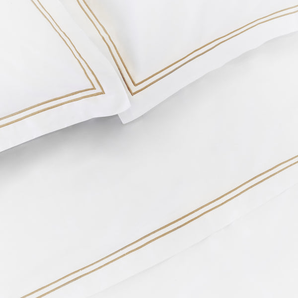 Luxe Cotton - Champagne Flat Sheet