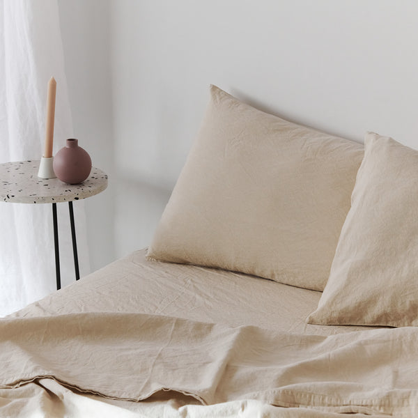Coco Linen - Clay Set X Moss