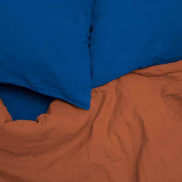 Coco Linen - Marrakech Blue Set X Terracotta