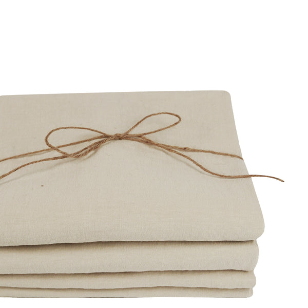 Coco Linen - Clay Fitted sheet