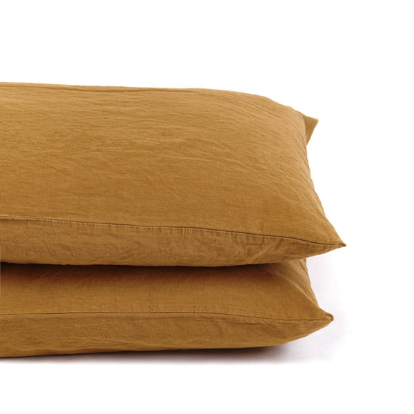 Coco Linen - Amber Pillowcase Set