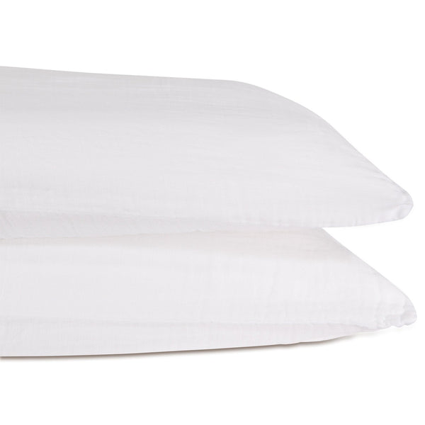 Muslin Cotton - Whisper White Pillowcase Set