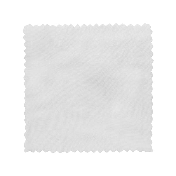 Washed Linen - Whisper White Swatch