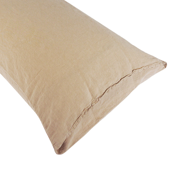 Coco Linen - Latte Pillowcase Set