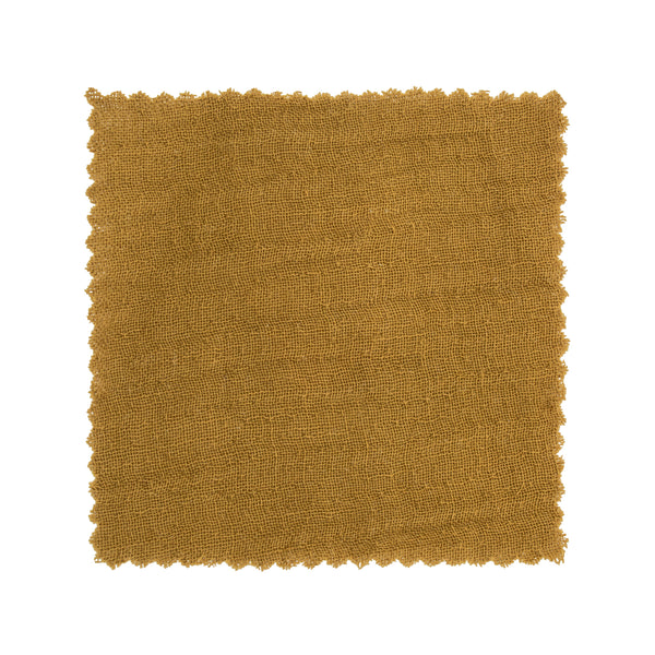 Muslin Cotton - Amber Swatch