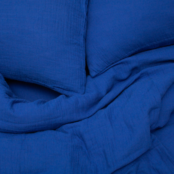 Muslin Cotton Kids- Marrakech Blue Set