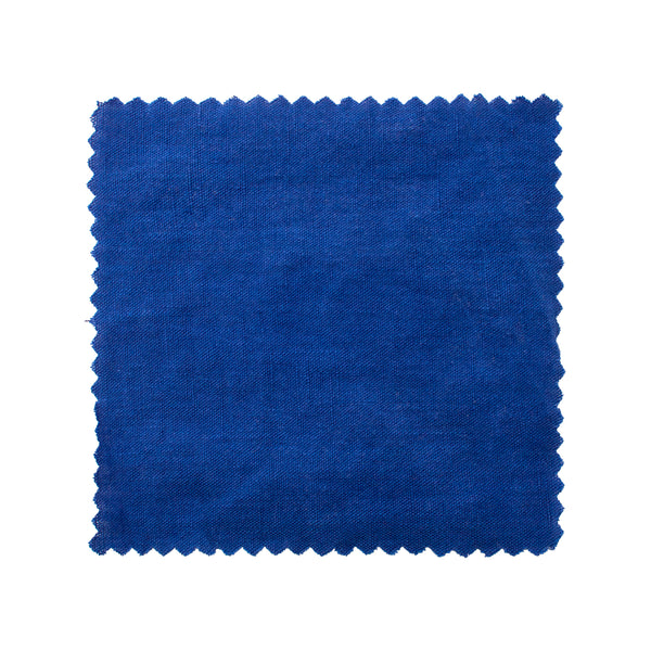 Coco Linen - Marrakech Blue Swatch