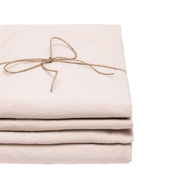 Cotton - Blush Flat sheet