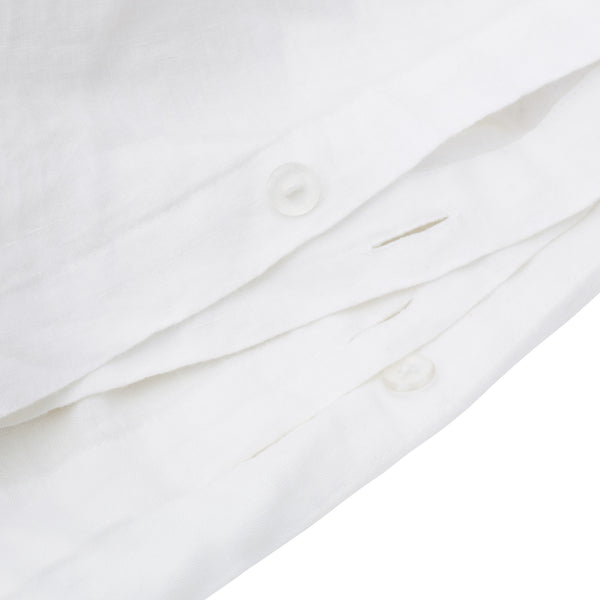 Washed Linen - Chrome Set x Whisper White