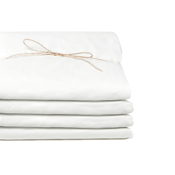Cotton - Whisper White Fitted sheet