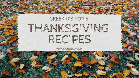 Greek U's Top 8 Yummy Thanksgiving Recipes To Try At Home