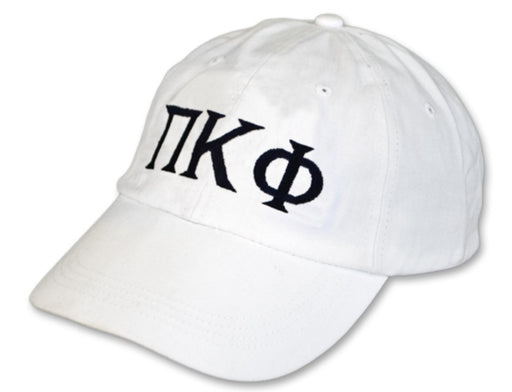 Pi Kappa Phi Greek Letter Embroidered Hat