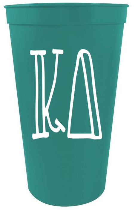 Kappa Delta Inline Giant Plastic Cup