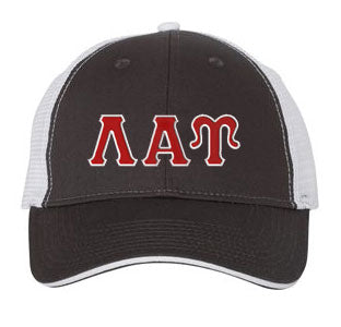 Lambda Alpha Upsilon Greek Trucker Cap