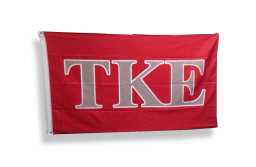 Tau Kappa Epsilon Big Letter Flag