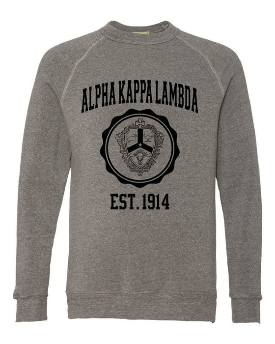 Alpha Kappa Lambda Alternative Eco Fleece Champ Crewneck Sweatshirt