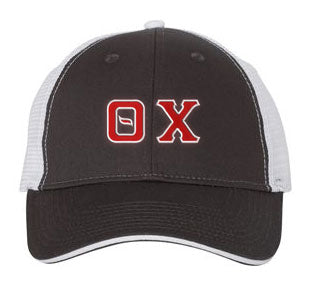 Theta Chi Greek Trucker Cap
