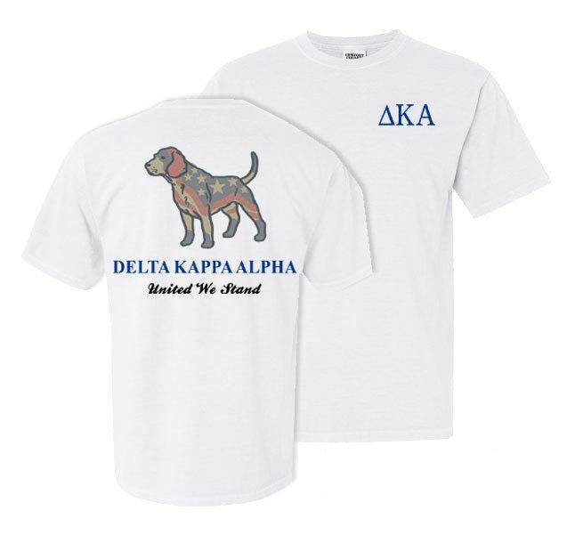 Delta Kappa Alpha Stand Tall Comfort Colors Heavy Tee