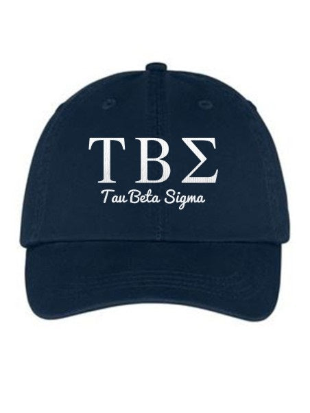 Tau Beta Sigma Collegiate Curves Hat