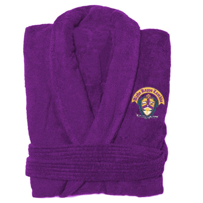Alpha Kappa Lambda Bathrobe