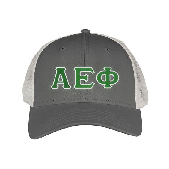 Alpha Epsilon Phi Greek Trucker Cap
